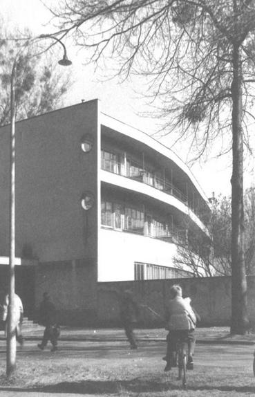 Budynek Internatu Szkoły Inspekcji Pracy - lata 50'