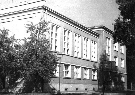 Budynek szkoły przy ul. Kopernika 5