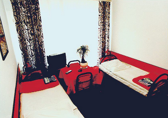 Widok pokoju hotelowego