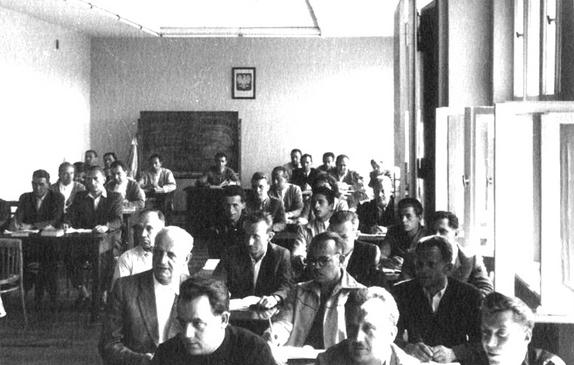 Uczestnicy szkolenia w Szkole Inspekcji Pracy
